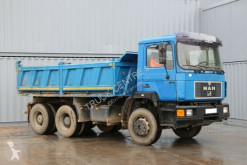 Camion MAN 27.342, 6x4, THREE-SIDED TIPPER, TIRES 60% benne occasion
