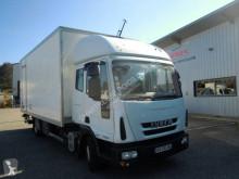 Teherautó Iveco Eurocargo 75 E 18 használt polcozható furgon