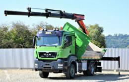 Camión caja abierta MAN TGS 18.480 Kipper 4,50m + PK 12502 + FUNK / 4x4