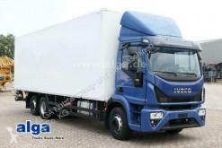 Camión Iveco Eurocargo 210E32 6x2, 8.560mm lang, Automatik, 320PS, AHK furgón usado