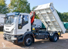 Lastbil Iveco Eurocargo 160E250 Eurocargo Meiller Kipper/Kran Funk 59tkm 3-vejs tip brugt