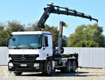 Ciężarówka bramowiec Mercedes Actros 2641 + HIAB 166E-5HIDUO/FUNK * 6x4