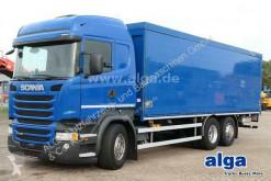 شاحنة Scania R R 410 LB6x2MNA, Euro 6, Orten, Klima, Retarder عربة مقفلة ناقلة الجعة مستعمل