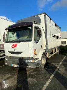 شاحنة مقطورة المواشي ناقلة أبقار Renault Midlum 220.12