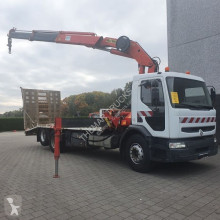 Камион Renault 320 DCI open laadbak платформа втора употреба