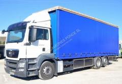 Lastbil MAN TGS 26.440 glidende gardiner brugt