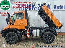 Lastbil 3-vejs tip Unimog U400 U400 4x4 Winterdienst 3S-Kipper Zapf. Scheckheft