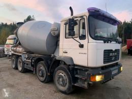 Lastbil MAN 32.322 32.322 Betonmischer 9m2 8x4 beton cementmixer brugt
