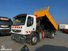 Camion Renault Premium LANDER 320 DXI HDS PALFINGER PKK8500 // WYWROT NA BOK I TYŁ // HYDROBURTA // SUPER STAN // benne occasion