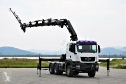 Camión caja abierta MAN TGS 26.400 * HIAB 288E-5HIPRO+JIB 70X-3/FUNK 6x4