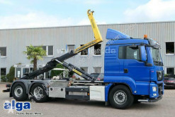 Lastbil flerecontainere MAN TGS 26.460 TGS BL 6x2, Intarder, Palfinger T20, Lenk