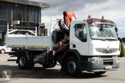 Voir les photos Camion Renault LANDER 280/4X2/3 SIDED TIPPER+CRANE FASSI F130