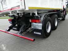 Voir les photos Camion Scania P 380 / 6X4 / 2 SIDED TIPPER + CRANE FASSI F130/