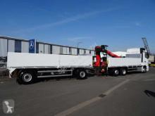 Voir les photos Camion Mercedes Actros 2745 L 6x2 Baustoffpritsche + Kran