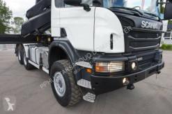 Voir les photos Camion Scania Scania P 400 6x6 Crane Kran HMF 2020 Hooklift .