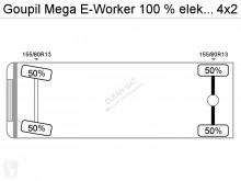 Voir les photos Engin de voirie Goupil Mega E-Worker 100 % elektrisch met Veegvuil kipper