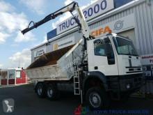 Se fotoene Lastbil Iveco MP 260E38 6x6 Meiller Palfinger PK12000 Sitzhzg.