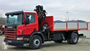 Ver as fotos Camião Scania 94 230 Kipper 5,40m +Kran**Topzustand