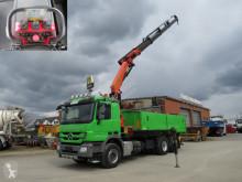Voir les photos Camion Mercedes Actros 2544 L6x2 3-Achs Kipper Kran Funk+Greiferst