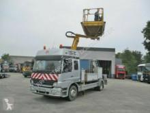 Vedere le foto Camion Mercedes 1529 Atego SCHÖRLING RAIL TECH Highworker + HIAB
