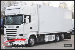 Voir les photos Camion Scania R 450 LB 6x2 ohbahn Schmitz TK UT 1200 Lenkachse,