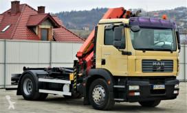 Voir les photos Camion MAN TGM  18.280  Abrollkipper 4,00m + Kran/FUNK !!