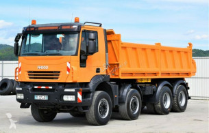 Ver as fotos Caminhões Iveco Trakker 450  Kipper 5,60m * 8x4! TOPZUSTAND !