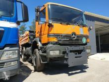 Voir les photos Camion Mercedes 1823 4x4 HIAB 065 Kran Cran Kipper Pflug