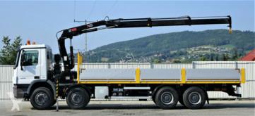 Voir les photos Camion Mercedes Actros 3236 Pritsche 8,00 m + KRAN / 8x4