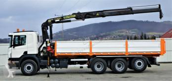 Voir les photos Camion Scania R480 Kipper 6,90m + Kran/FUNK*6x4*Topzustand