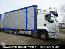 View images Renault 450 DXI  Menke 3 Stock Hubdach truck