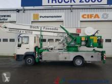 Voir les photos Camion MAN 8.113 Klaas Montage Dachdecker Kran 32m 1000 kg.