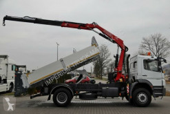 Voir les photos Camion Mercedes AXOR 1829/4X2/TIPPER+CRANE FASSI F110/RADIO