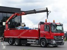 Voir les photos Camion Mercedes ACTROS 2641/6x2/CRANE PALFINGER PK18002 / RADIO