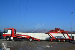 Voir les photos Camion Mercedes Actros 1844 Autotranspor + Anhänger Lohr