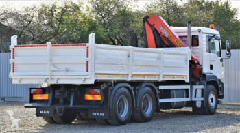 Voir les photos Camion MAN TGA 26.350 Kipper 5,40 m + Kran  6x4 Top Zustand