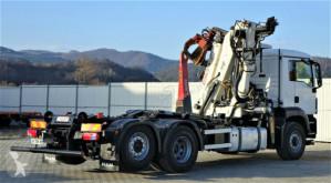 Voir les photos Camion MAN  TGS 26.400 Abrollkipper 5,70m+Kran * 6x4H