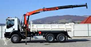 Voir les photos Camion Iveco Trakker 350 Kipper 5,10m/Bordmatic+Kran*6x4