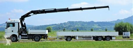 Voir les photos Camion remorque MAN TGA 18.440 Sattelzugmaschine+KRAN/FUNK+TRAILER!