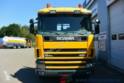 Voir les photos Camion Scania 124G470  6x4 Multilift Knick- Schub Haken 25 to.