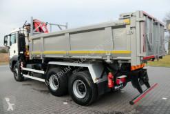 Voir les photos Camion MAN TGS 26.360/ 6X4/ 3 SIDED TIPPER+CRANE FASSI F110