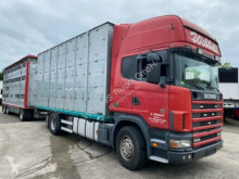Voir les photos Camion remorque Scania 164/580 Topline 2 Stock V8 Pezzaioli Anhänger