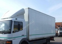 Mercedes moving box trailer truck Atego