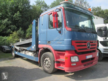 Mercedes heavy equipment transport trailer truck Actros 1844
