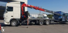 DAF heavy equipment transport trailer truck XF105 410