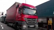 Lastbil med släp flexibla skjutbara sidoväggar Mercedes Actros 1844 L