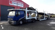 Renault Premium 450 DXI trailer truck used car carrier