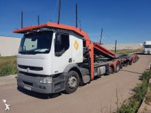 Renault Premium 420 trailer truck used car carrier