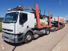 Renault car carrier trailer truck Premium 420 DCI