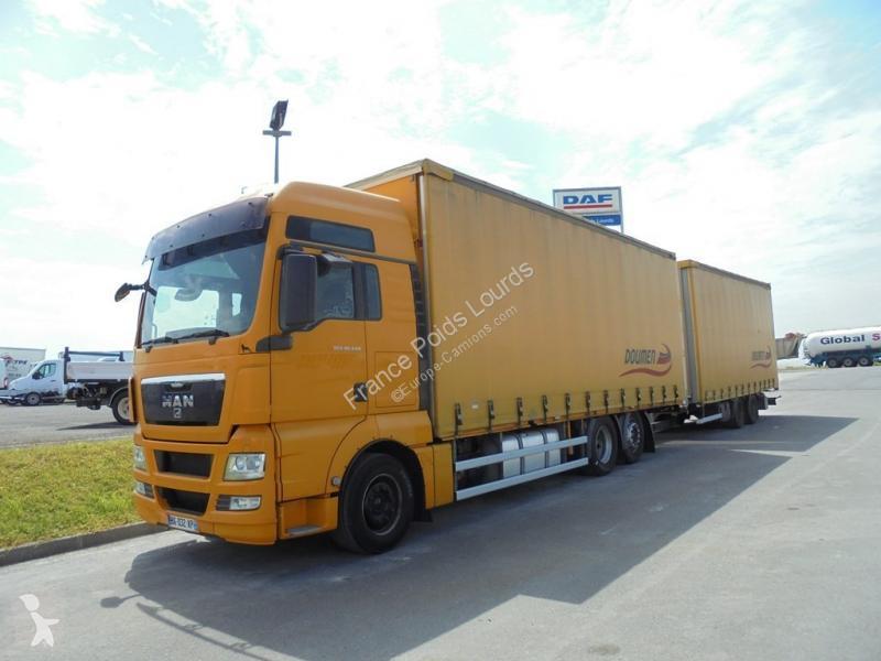 Vedere le foto Autotreno MAN TGX 26.440